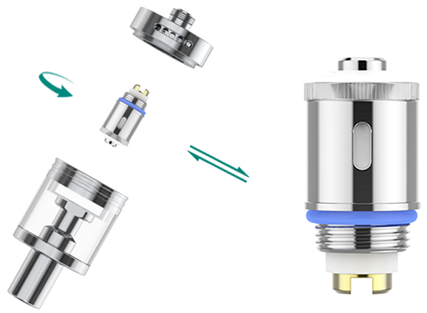 GS Tank Atomizer Replacement
